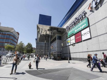 Centro comercial de Fuenlabrada, en el centro de la ciudad