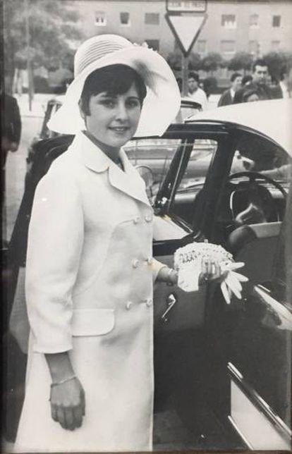 María José Chamizo, en una fotografía familiar.