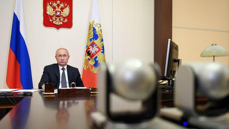 El presidente ruso anunció la pasada semana que su país tenía ya la vacuna contra la covid-19.