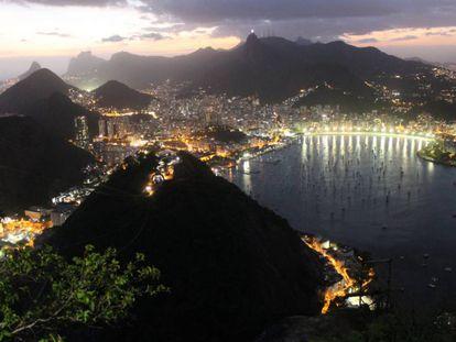 Vista de Río de Janeiro, Brasil.