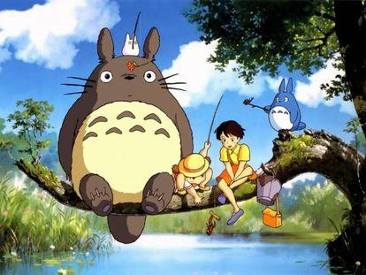 Tráiler de la película 'Mi vecino Totoro'.