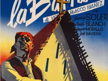 Cartel original de la película 'La barraca', de Roberto Gavaldón.