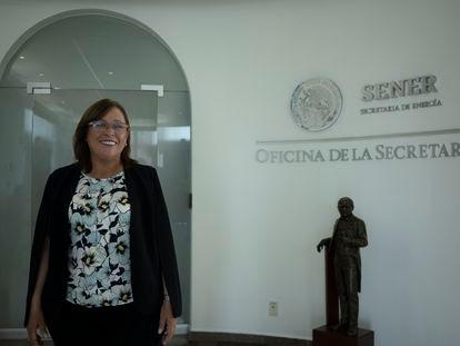 Rocío Nahle, titular de la Secretaría de Energía de México.