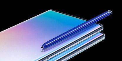 Uno de los últimos modelos de Samsung.
