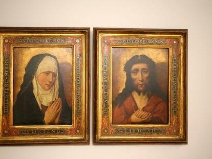 El Museo de Pontevedra expone, antes de su devolución a Polonia, dos cuadros procedentes del expolio nazi.