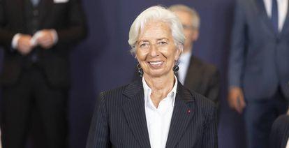 La presidenta del Banco Central Europeo, Christine Lagarde, la semana pasada.