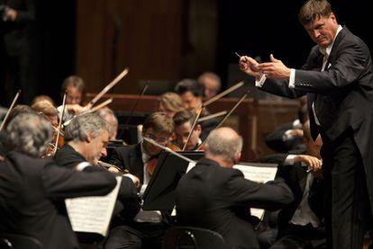 Christian Thielemann, al frente de la Filarmónica de Viena.