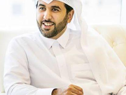Saif al Thani, ministro portavoz de Qatar.