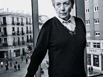 Imagen de archivo de Amparo Baró, fallecida hoy en Madrid.
