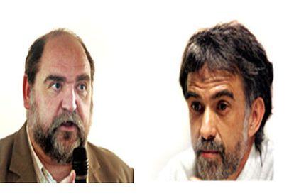Antoni Bulbena, a la izquierda, e Ignacio Morgado.