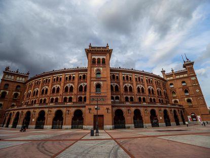 Explanada de la plaza de toros de Las Ventas, en Madrid.