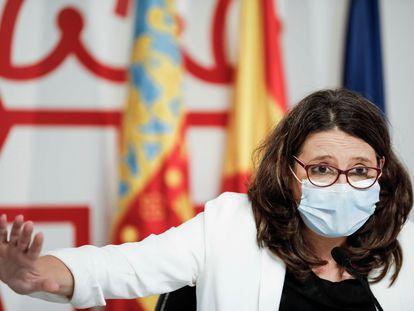 La vicepresidenta del Gobierno valenciano, Mónica Oltra, en una imagen de archivo.