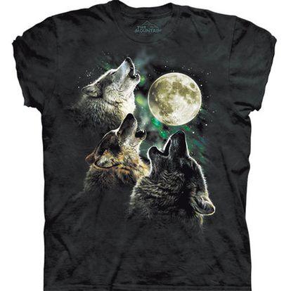 <b>La camiseta diseñada por Antonia Neshev es la piedra angular de un nuevo culto, el de los tres lobos que le aúllan a la luna.</b>