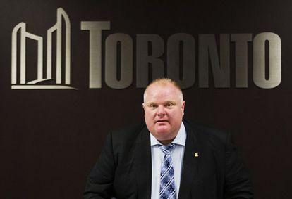 Ron Ford, exalcalde de Toronto, en mayo de 2013.