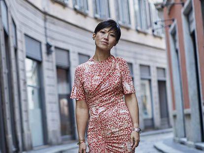 La diseñadora Sandra Choi, directora creativa de Jimmy Choo.