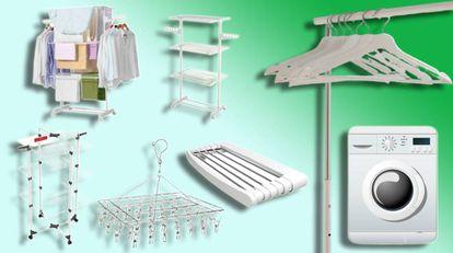 Artículos diseñados para sacar un mejor partido a los radiadores, a las puertas o para tender en vertical.