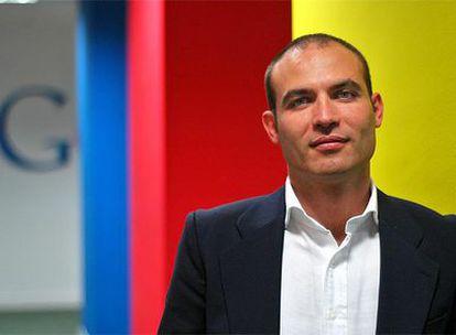 Bernardo Hernández, en la de Google.