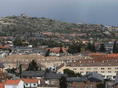 Torrelodones, uno de los municipios madrileños donde existe radón.