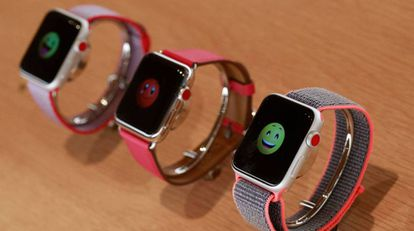 Modelos de relojes Apple.