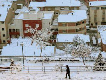 Los termómetros bajan hasta -10 grados.- Avisos en 13 provincias por nevadas, las más copiosas se esperan en Cantabria, Burgos, Navarra, País Vasco y Asturias
