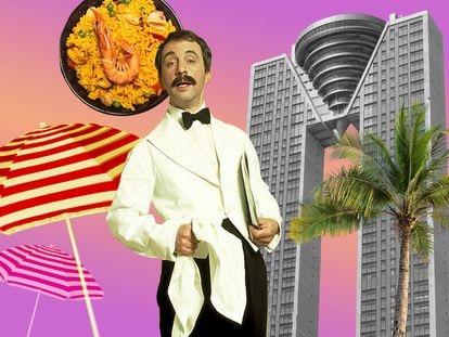 Andrew Sachs interpretó en la serie británica 'Hotel Fawlty' al camarero Manuel, un migrante español que era objeto de bromas sobre el supuesto carácter vago y comilón de nuestro país.