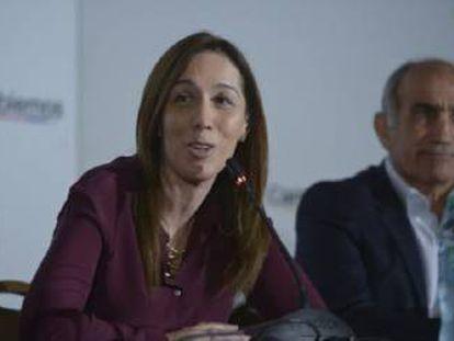La primera gobernadora de la Provincia de Buenos Aires parece dar la batalla en persona contra el crimen organizado.