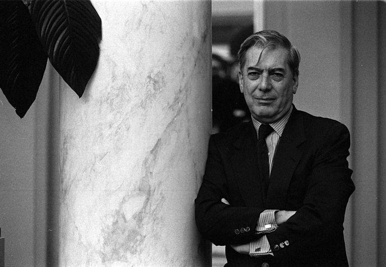 Mario Vargas Llosa en 1993.