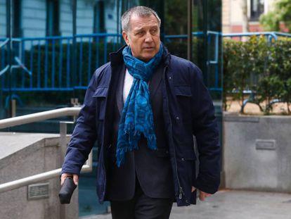 Alberto Pozas, ex alto cargo de La Moncloa, en la Audiencia Nacional.