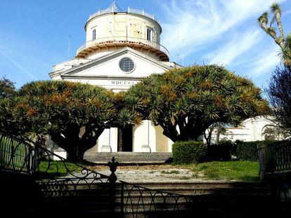 El Observatorio Astronómico de Lisboa.