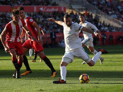 El Girona se enfrenta al Real Madrid en la décima jornada de la Liga Santander
