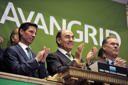 Estreno bursátil de Avangrid en Wall Street el pasado diciembre