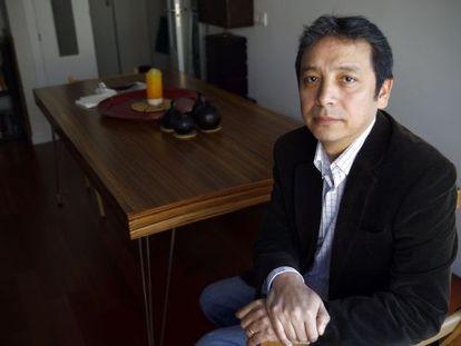 Nelson Yucra, boliviano que espera desde hace dos años la nacionalidad para reagrupar a su esposa.