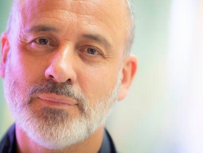 29-04.2021  Javier Gutiérrez, actor y director de cine. Foto de Bernardo Pérez
