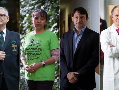 Desde la izquierda, Manuel Vega, Miriam Suárez, Antoni Mayol y Antonio de Miguel.