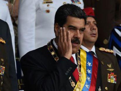Una explosión, supuestamente desde un dron, interrumpe un discurso del presidente de Venezuela. El Gobierno colombiano condena los señalamientos   Resultan absurdos y carecen de todo fundamento