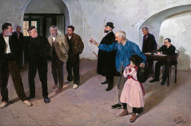 'El sátiro' (1908), de Antonio Fillol.