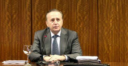 El presidente de Pescanova, Manuel Fernández de Sousa