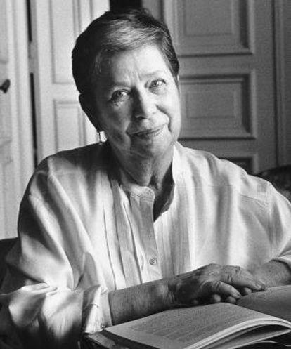 Bárbara Brecht-Schall, hija de Bertolt Brecht.