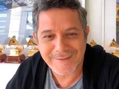 """Alejandro Sanz  """"En estos tiempos tristes hay que sacar la unión entre nosotros""""."""