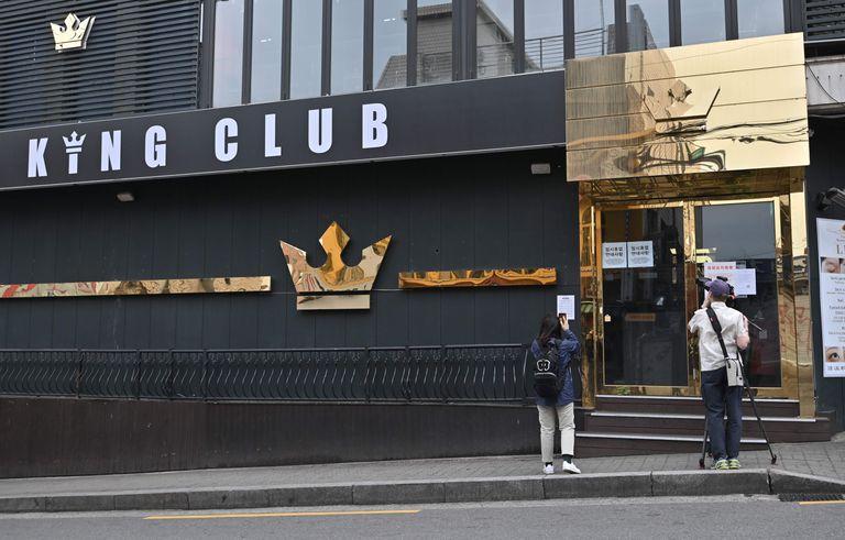 Un club nocturno donde se cree que se produjo un rebrote de la covid-19 en Corea del Sur.