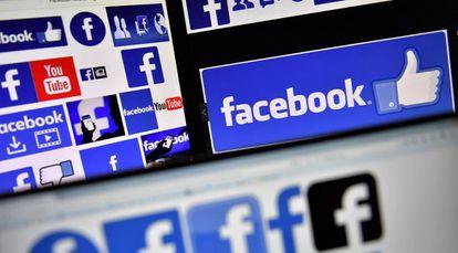 Diferentes logos de Facebook, en una imagen del pasado noviembre.