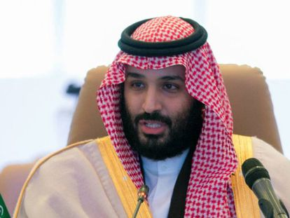 El príncipe heredero saudí, Mohammed Bin Salmán, en noviembre en Riad.
