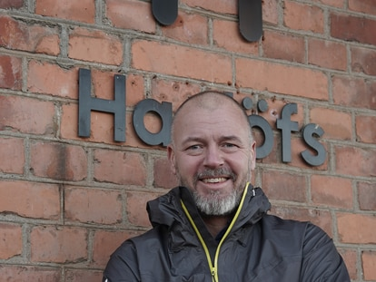 Fredrik Ohlsson, CEO de Haglöfs.
