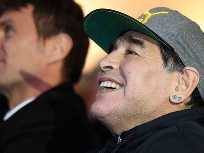 Diego Armando Maradona, en un evento el pasado enero en Florencia.