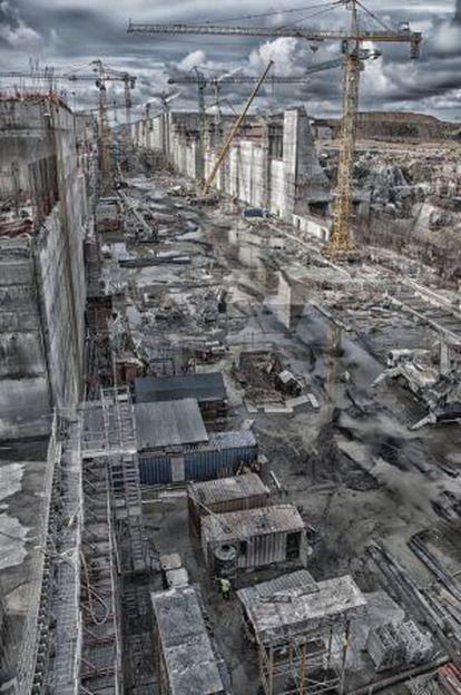 Obras de ampliación del Canal de Panamá, realizadas por el consorcio GUPC