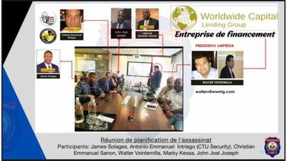 Según la Policía de Haití, en esta reunión en Miami se planeó el magnicidio de Jovenel Moïse.