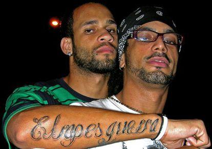 El grupo de rap cubano Aldo y los Aldeanos