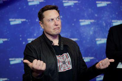Elon Musk, fundador y primer accionista de Tesla, en la alfombra roja de los premios Axel Springer 2020, en Berlín.