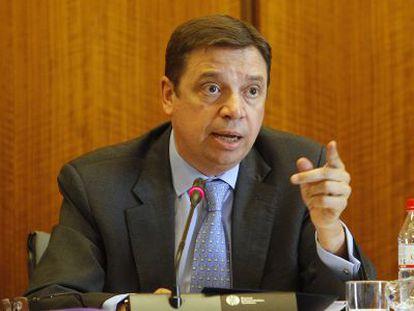 El consejero de Agricultura y Medio Ambiente, Luis Planas.