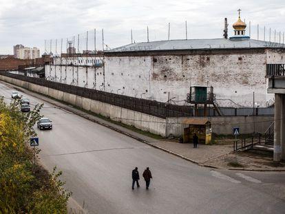 Una colonia penal masculina de Omsk, en Siberia, en una imagen de octubre de 2018.